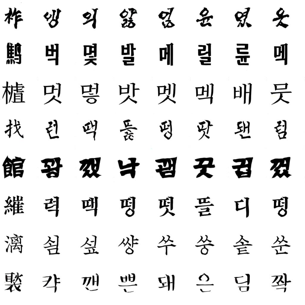 Zi2zi master chinese calligraphy with conditional adversarial networks the leftmost column is a sample of source chinese font with the rest being the inferred hangul counterparts noteworthily at this moment the model has buycottarizona Image collections